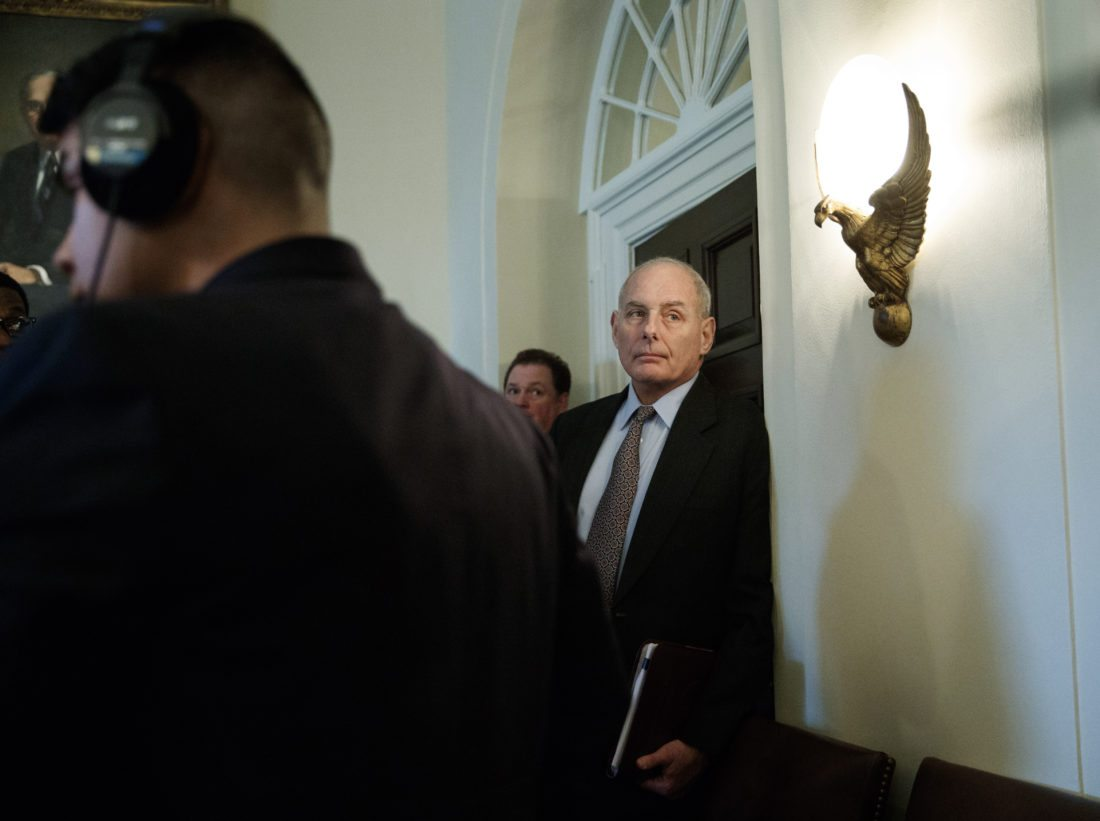 White House Chief of Staff calls his job