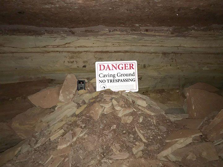 Michigan Man Cave Signs : Dnr: vandals damage bat cave site steal equipment compromise