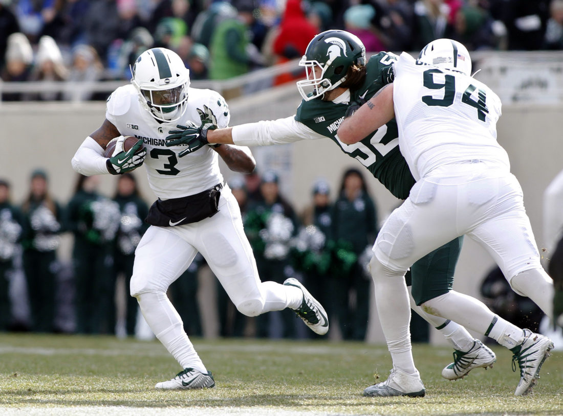 Michigan State's LJ Scott eagerly eyes senior season
