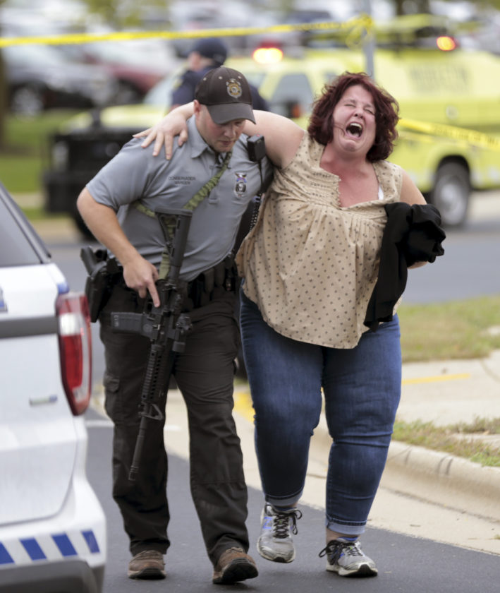 Colorado Springs Shooting Gunman Opens Fire At Planned: Man Opens Fire At Wisconsin Office, Wounds Three