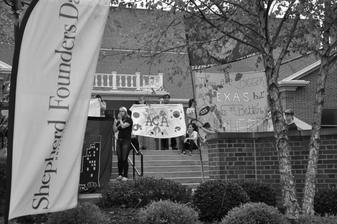 Submitted photo Shepherd University's Founder's Day will take place Oct. 20, at 3:30 p.m. beginning at McMurran Hall. Pictured above is last year's event.