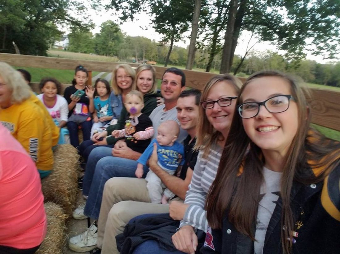 Submitted photo Tuscarora Indians 4-H Club met on Oct. 4, for its monthly meeting on this 175-acre farm, located in Glencoe along Middle Creek.