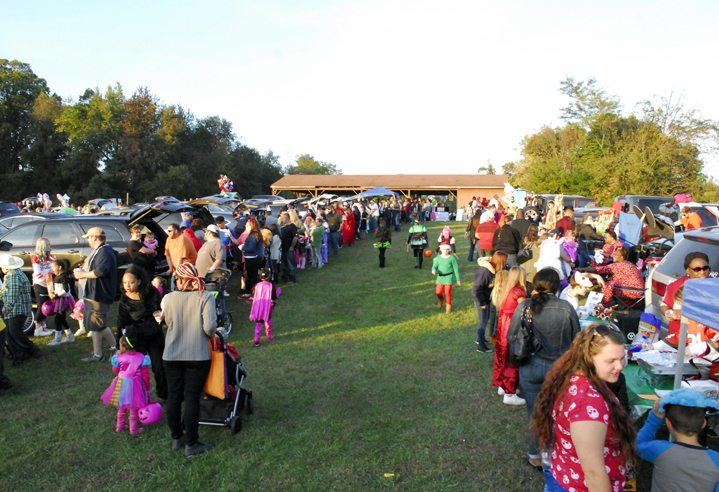 "Journal photo by Jeff McCoy Thousands turned out to the New Destiny Ministry Center ""Trunk-or-Treat"" on Saturday in Kearneysville."