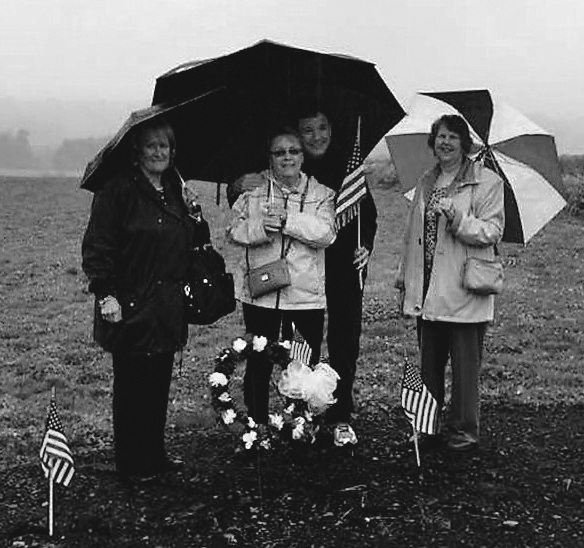 A Ceremony at Flight 93 Memorial is shown.