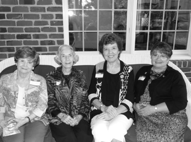 Submitted photo West Virginia State Garden Club presidents are shown, from left, Carol Rockwell; Sara Townsend; Judy Guye; Patty Arndt. Judy Guye is the current WVGC president.