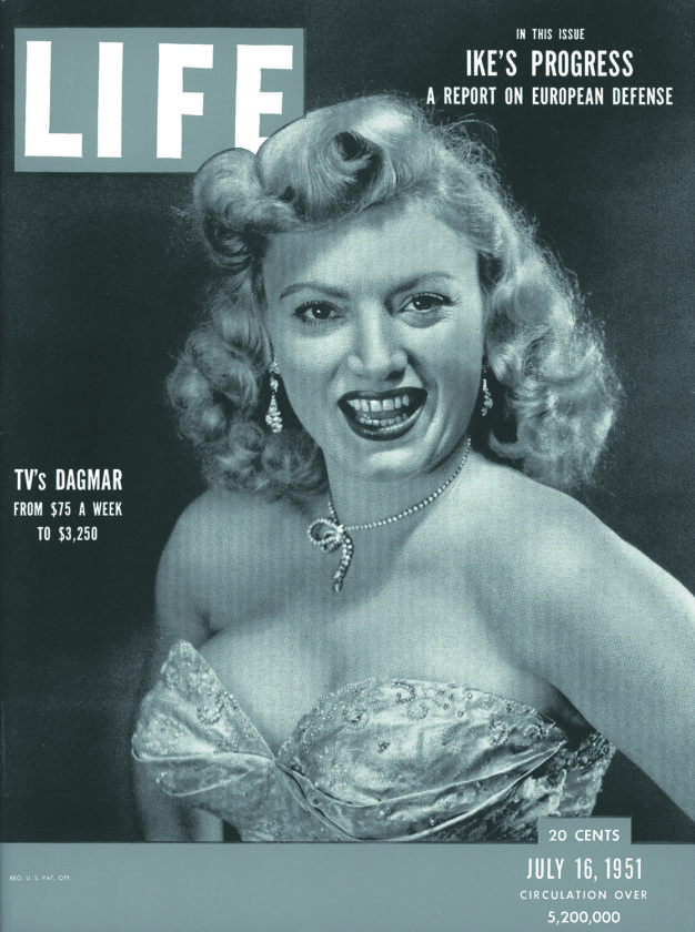 (Submitted photo) On Nov. 29, 1921, the actress Dagmar was born Virginia Ruth Egnor in Logan County.