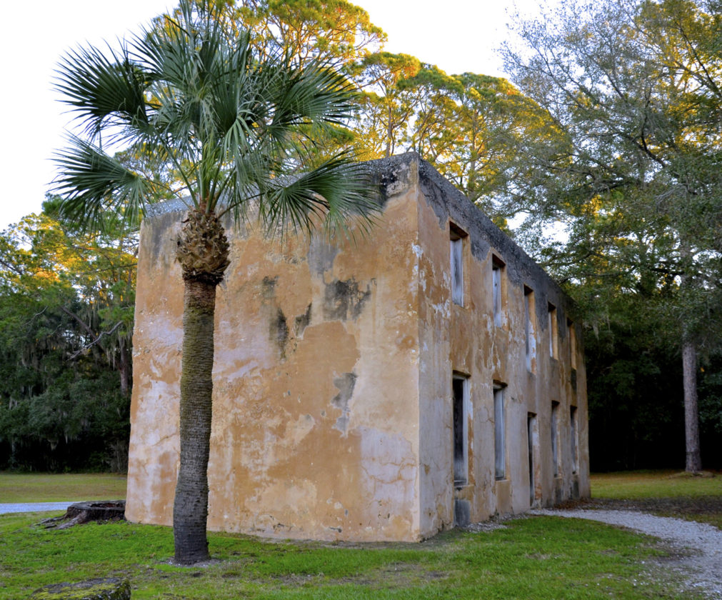 Photo by Jeanne Mozier The northern end of Jekyll Island has the oldest history. Horton House was built as a residence and British Empire outpost by Major William Horton, serving under General James Oglethorpe, founder of Georgia. Horton was the first Englishman to purchase land on Jekyll. Across the road is du Bignon Cemetery, resting place of early French planters.
