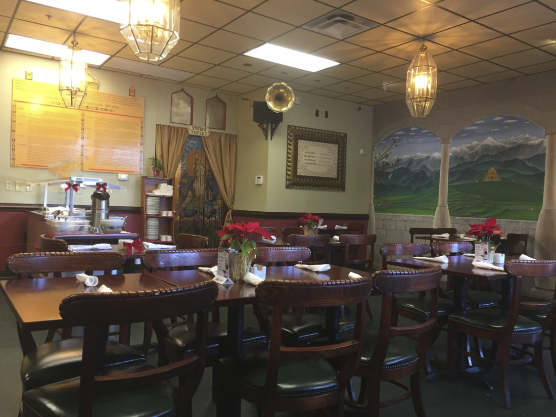 Deliciousness is the 'spice of life at indian restaurant