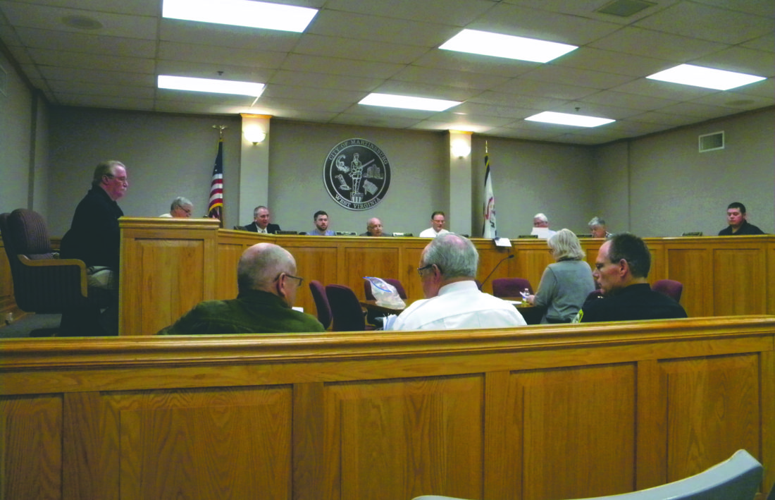 Submitted photo Pictured is Martinsburg Council during first meeting of 2017 on Thursday night.