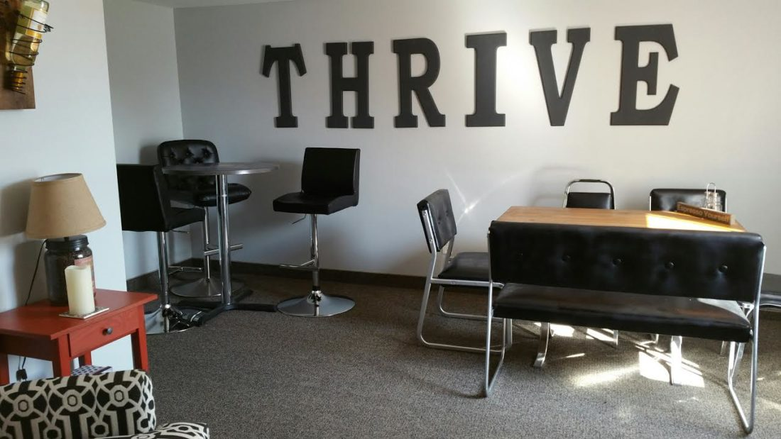 (Journal photo by Jennifer Young) One of the Thrive meeting spaces available at Thrive Professional Center in Charles Town.