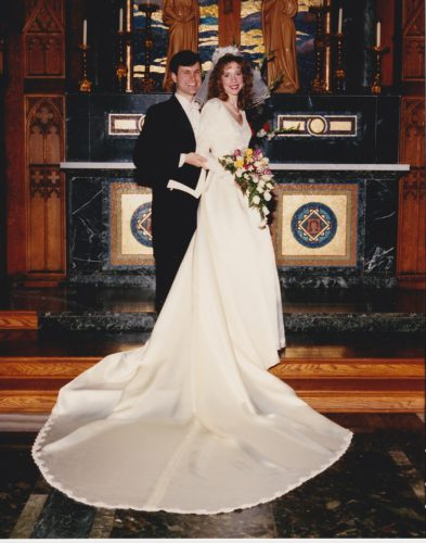 Peggy and Joe McDonagh's wedding - February 22, 1992