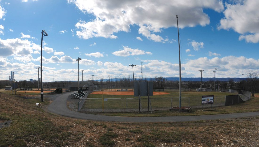 Journal photo by Ron Agnir Charlotte Prather Park, seen above, will be home to the Martinsburg Fast Pitch Softball League. The league begins its inaugural season in May.