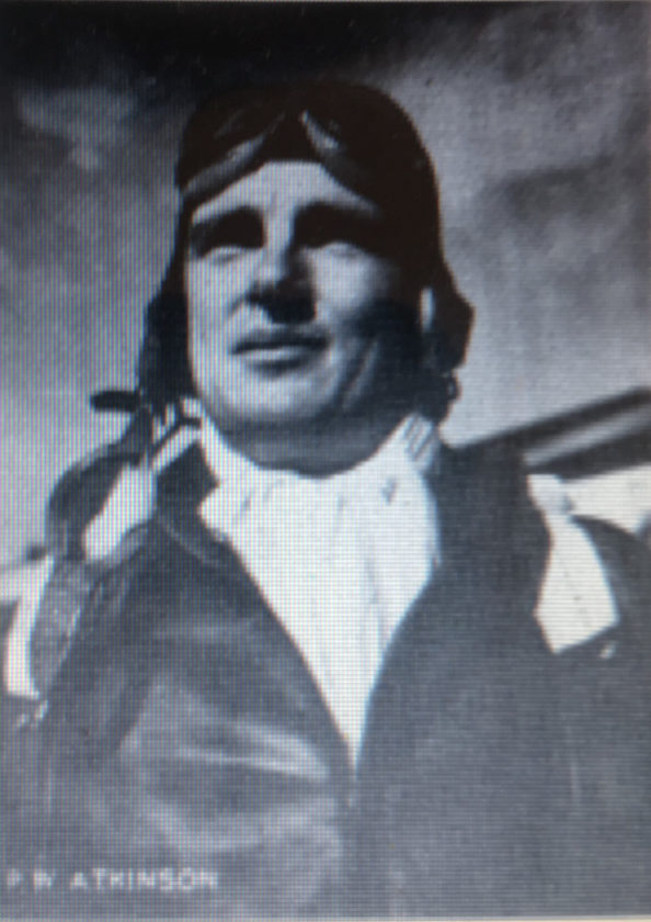 (Courtesy photo) Peter William Atkinson, a Darkesville native, is shown in his pilot uniform during World War II.