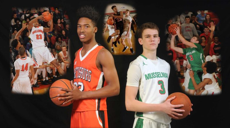 Journal photo illustration by Ron Agnir Martinsburg's Corey Barnett and Musselman'sCam Stephens have been named The Journal's Co-BoysBasketballl Players of the Year after both led their teams to the state tournament and posted some of the best numbers in the area.
