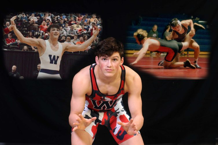 Washington's Cameron Pine was named The Journal's 2017 Wrestler of the Year after not only winning the Class AAAstate title at 160 pounds but finishing the season a perfect 50-0.