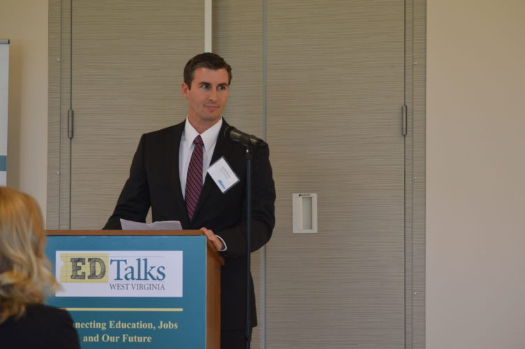 Keith Busby at the EDTalks event.