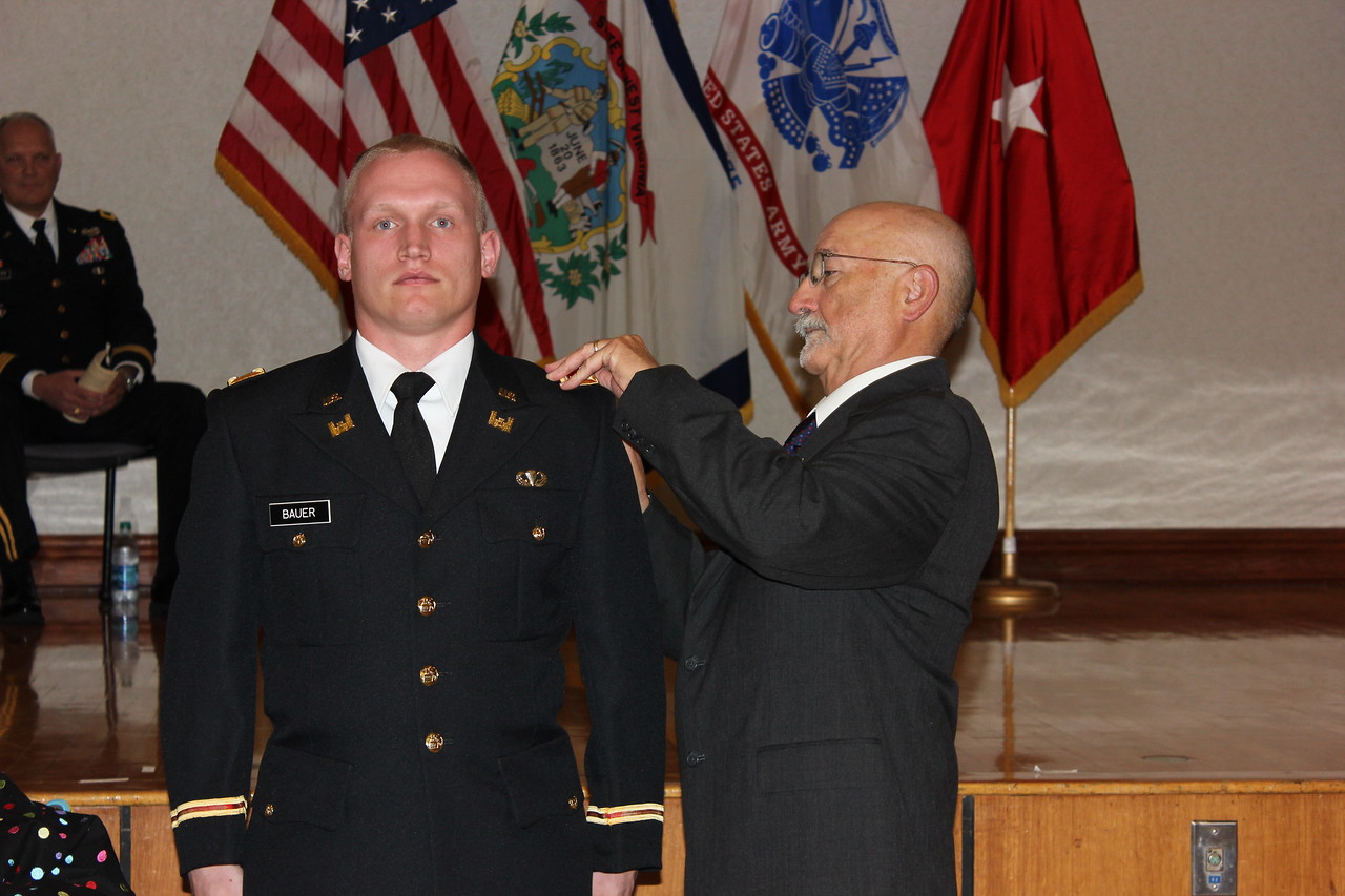 wvu rotc cadets receive army commission