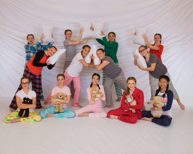 """Upcoming """"Treasures in the Attic"""" show opens with children having a slumber party at grandma's. (Photo courtesy of Mylery & Lowe Photography)"""