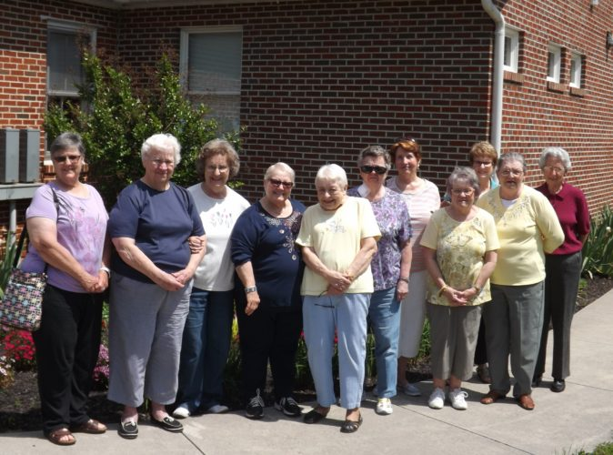 Claudia Zust, Sue Davis, Barbara Perrell, Pat Sturman, Joan McWorter, Darlene Bauer, Judy Miller, Sylvia Kesecker, Linda New, Barbara Catrow and Mary Lou Russler.  (Harry Sturman was not included in the photo) (Submitted photo)