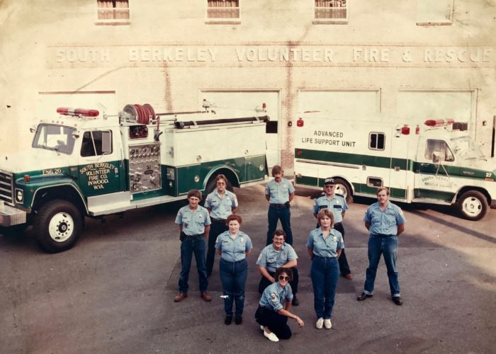 An older photo that will be part of the permanent collection at South Berkeley Volunteer Fire Department's new fire station. (Submitted photo)