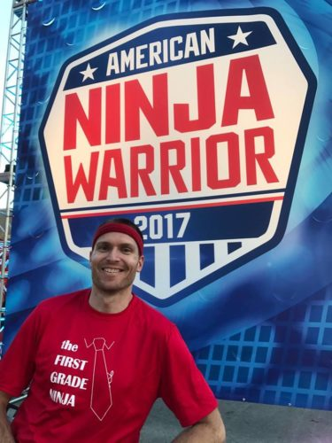 Submitted photo Bobby Tabb, a Jefferson High School graduate, will appear on the show American Ninja Warrior. Tabb is a first-grade teacher in Oregon.