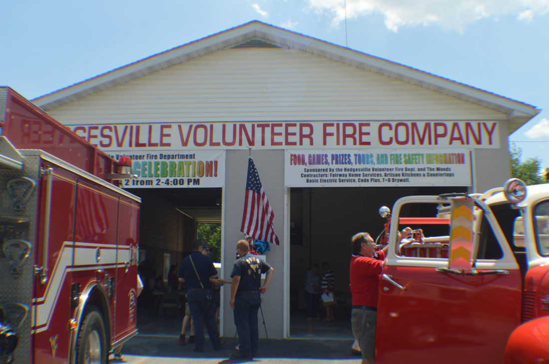 Volunteer fire department renovation celebrated