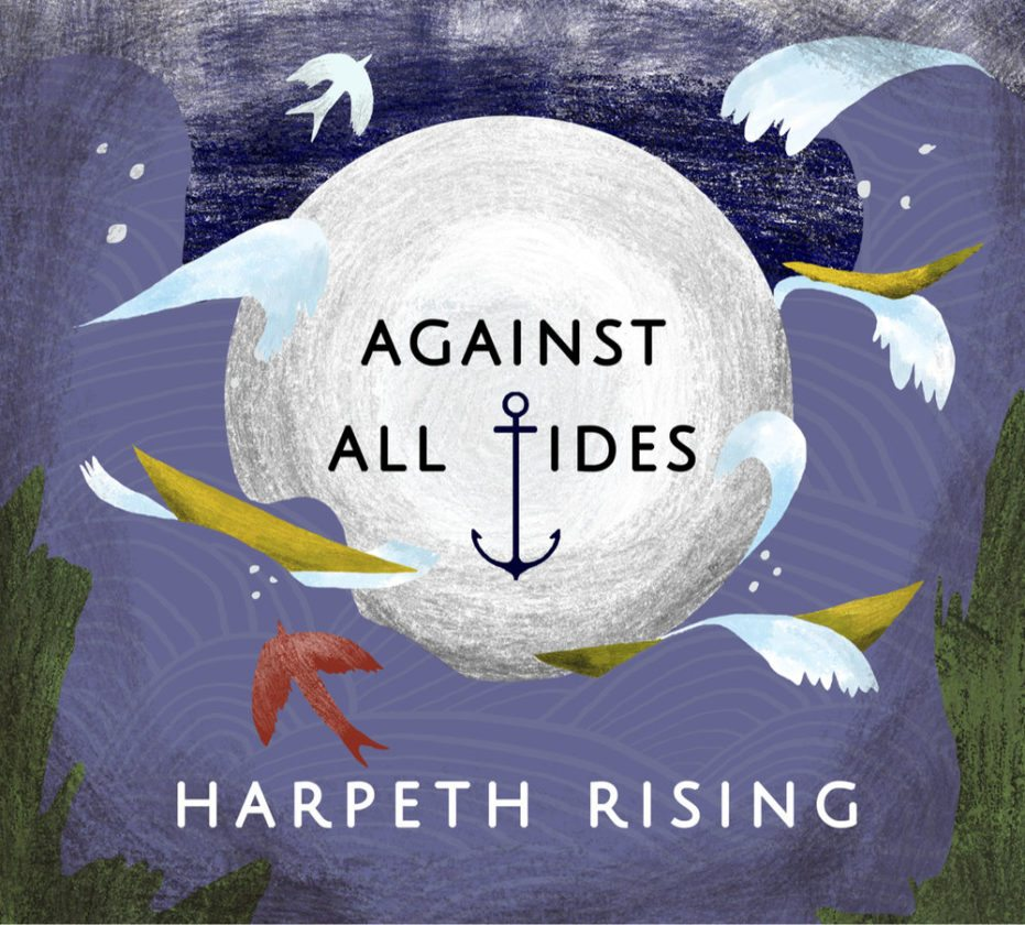 Cover of the trio's new CD, 'Against All Tides.' (Image courtesy of harpethrising.com)