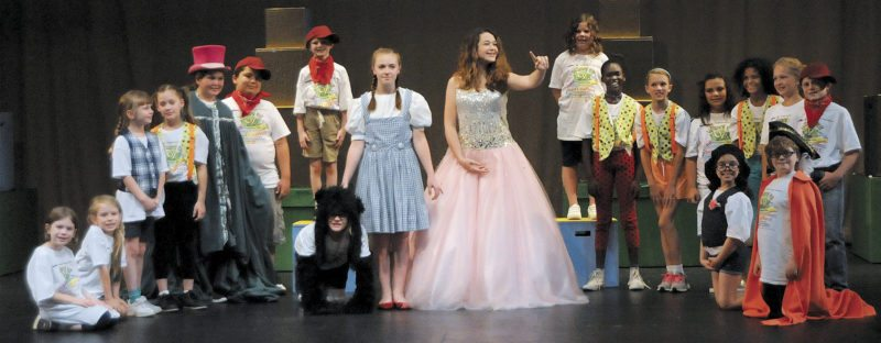 Members of the Artistic Endeavor's cast of 'The Wizard of Oz.' The performance will be held at the Musselman High School auditorium July 21-23. (Journal photo by Ron Agnir)