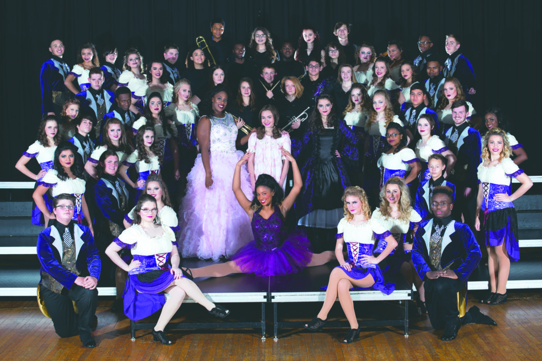 Submitted photo Pictured are the members of the Martinsburg High School Good Times show choir.