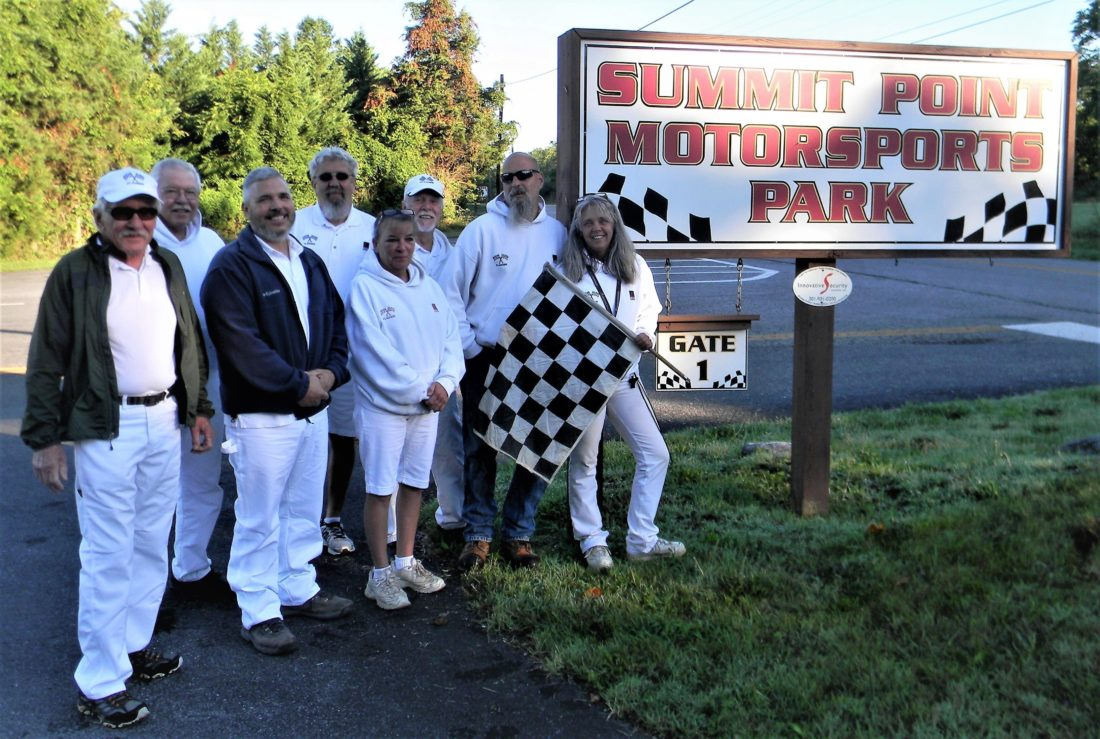Pictured above are the members of the Summit Point Motorsports Park flag team.