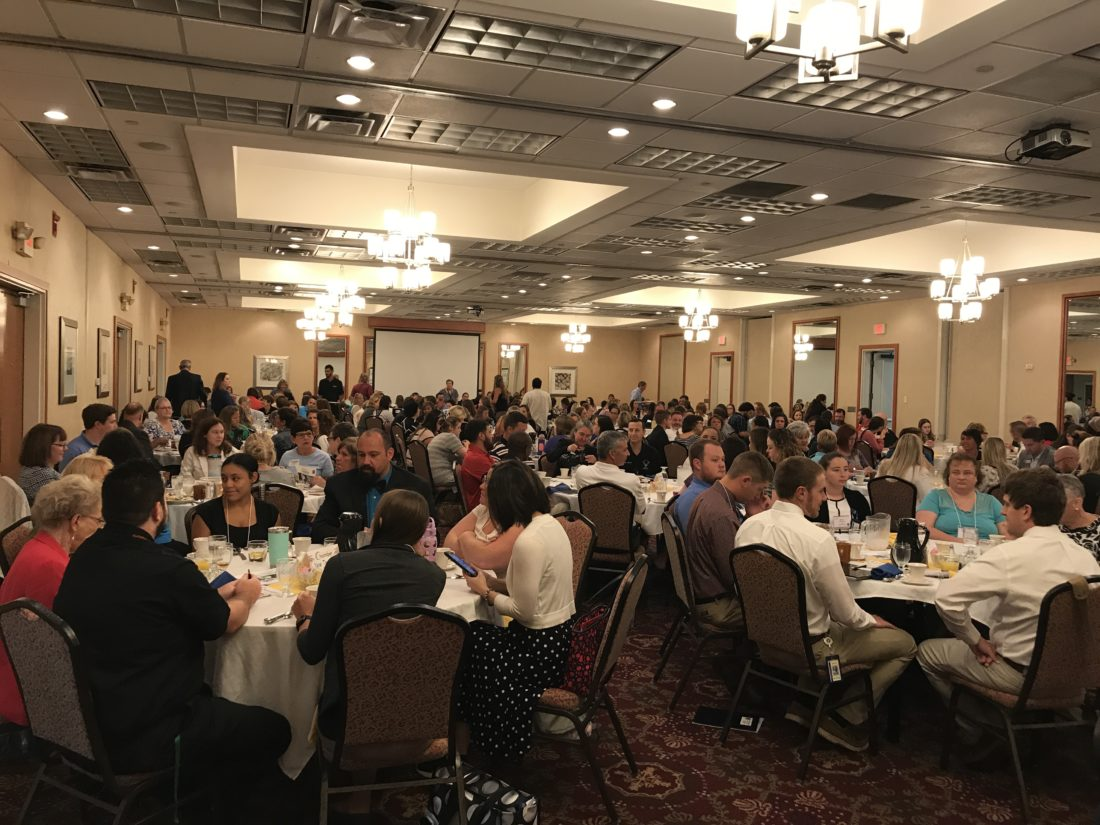 Berkeley County honored new teachers at the 46th annual New Teachers Breakfast at the Holiday Inn.