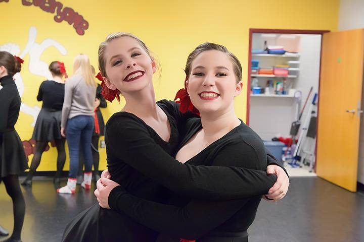 Kaitlyn McJury, left, and Emily Shannon will dance at the Macy's 91st Annual Thanksgiving Day Parade in New York in November. (Submitted photo)