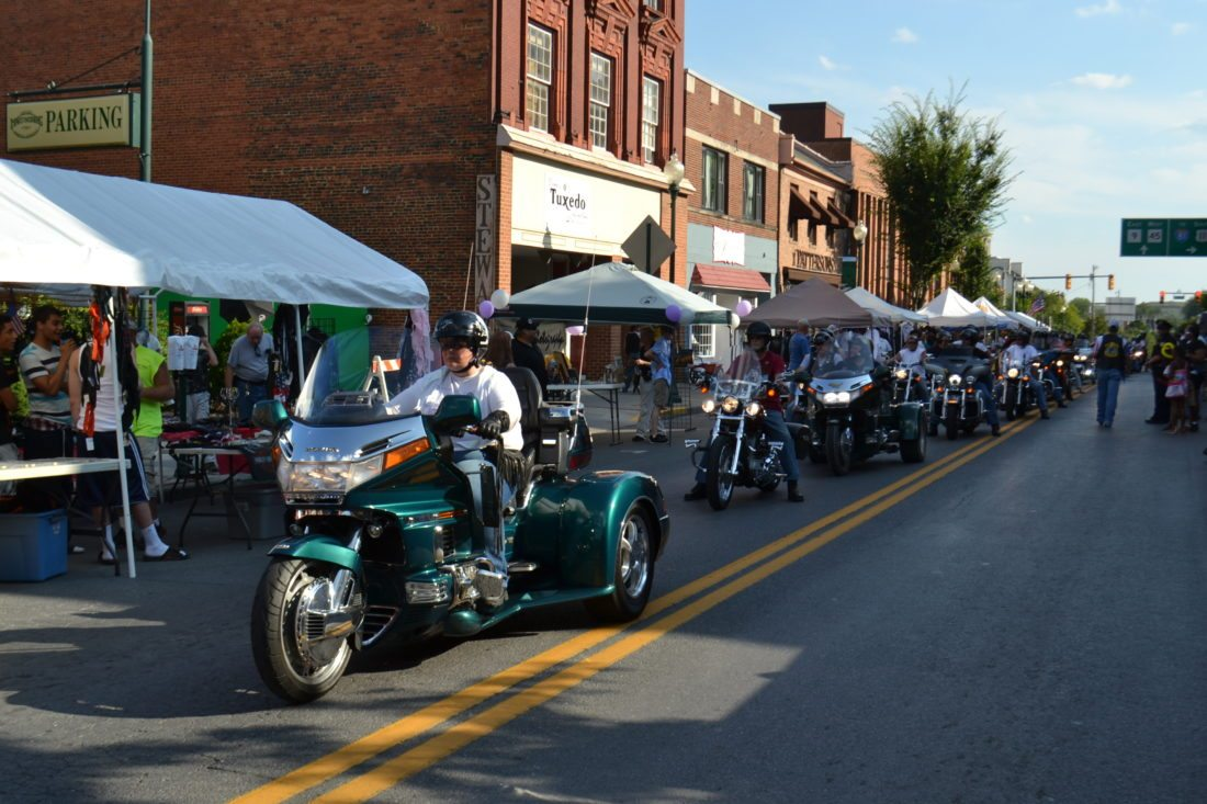 Shown is an image from a previous 'Bike Night'. (Journal file photo )