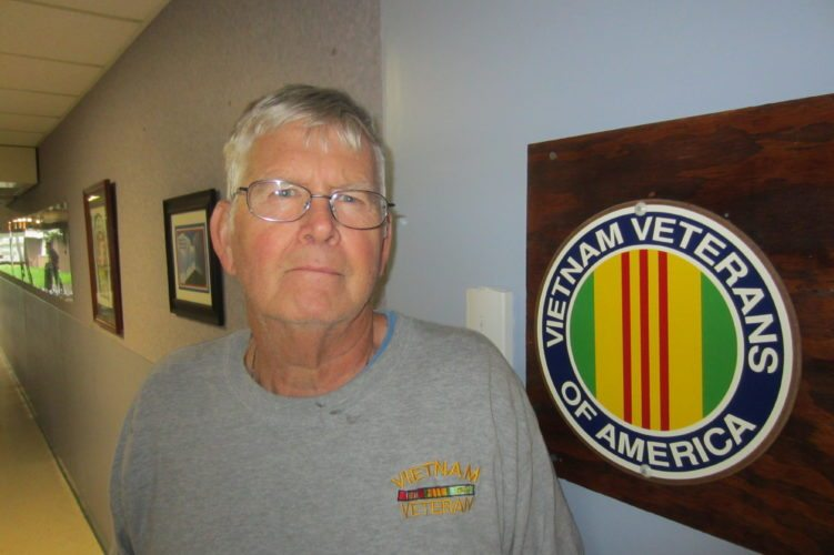 Daniel Ahearn, 71, is a Vietnam veteran.