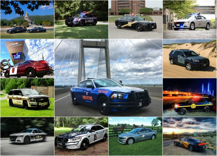 Shown are images from the '2018 America's Best Looking Cruiser Calendar.' (Submitted photo)
