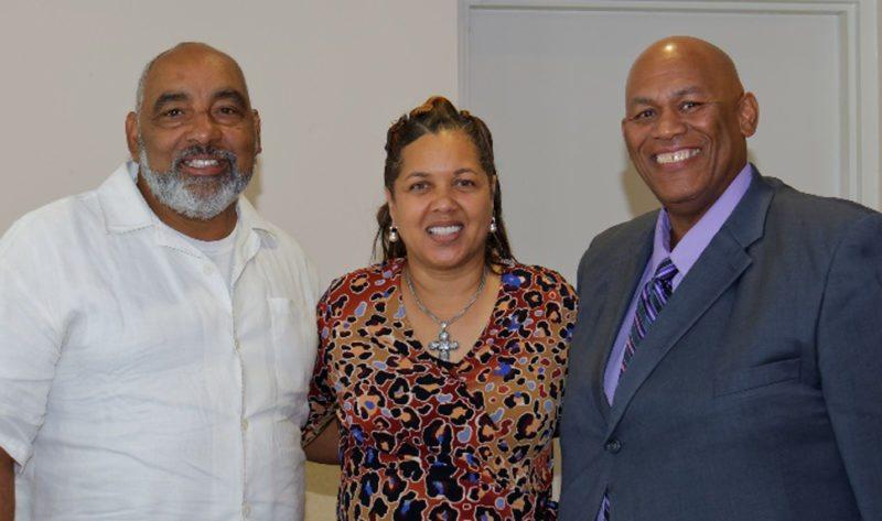 Pastor Jeffrey Berry,Wainwright Baptist Church, Anita Walker, CEO of Anita's Harmony, Elder Richard Rideoutt, Kingdom Life Cathedral Ministries, Inc. (Submitted photo)
