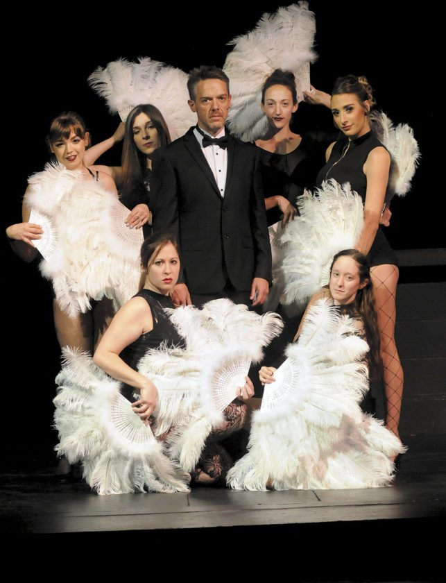 Billy Flynn (David McCauley) in Chicago: Season Show 1 at the Apollo Civic Theatre in Martinsburg. (Journal Photo by Ron Agnir)