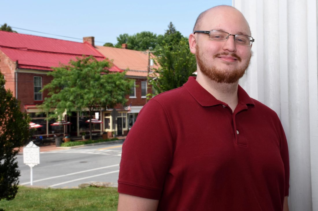 Christopher A. Korcsmaros, recipient of the 2017-18 McMurran Scholars Association Scholarship, is currently pursuing a master's degree in Shepherd's College Student Development Administration program. (Photo courtesy of Shepherd University)