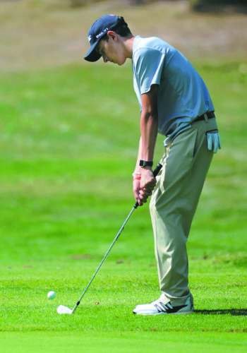 Camden Rebuck earned a spot in the state golf tournament a year ago as part of the Spring Mills team. This year, he'll be looking to return as part of Hedgesville.