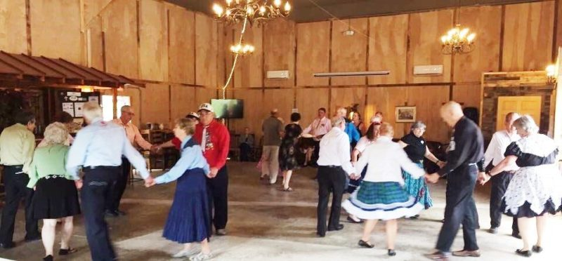 Participants enjoy an evening of square dancing while helping raise money for Meals on Wheels. (Submitted photo)