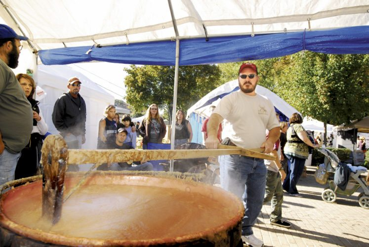 Image from a previous year's Apple Butter Festival. (Journal file photo)