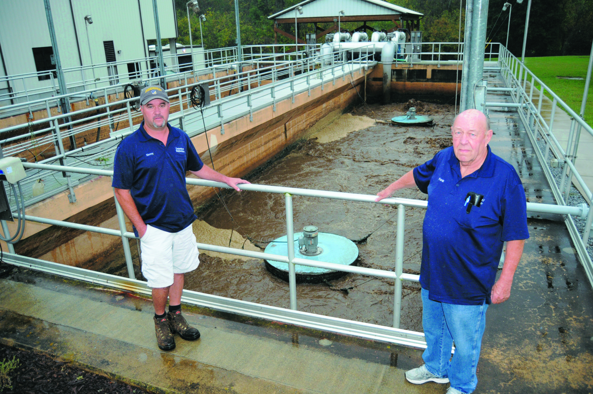 Meeting the mark Shepherdstown s sewage treatment plant shows