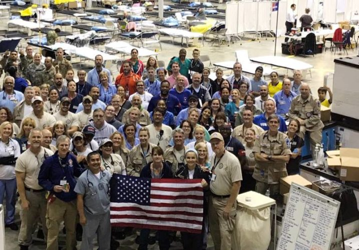 Members of the integrated team after returning from Puerto Rico. (Submitted photo)