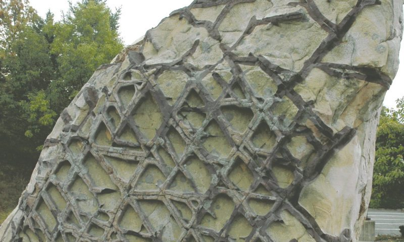 Waffle Rock is 300 million year old fractured and leached sandstone in Mineral County. (Journal photo by Jeanne Mozier)