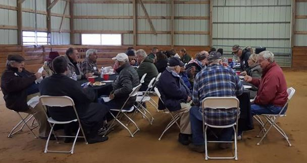 Over 100 attendees met for the West Virginia Thoroughbred Breeders Association. (Submitted photo)