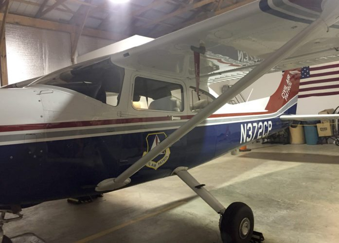 The Martinsburg Composite Squadron has access to this Cessna, as well as other aircraft. (Submitted photo )