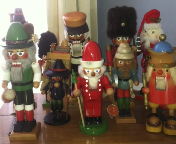 Steinbach and Ulbricht nutcrackers, circa 1960s-1980s. (Submitted photo)
