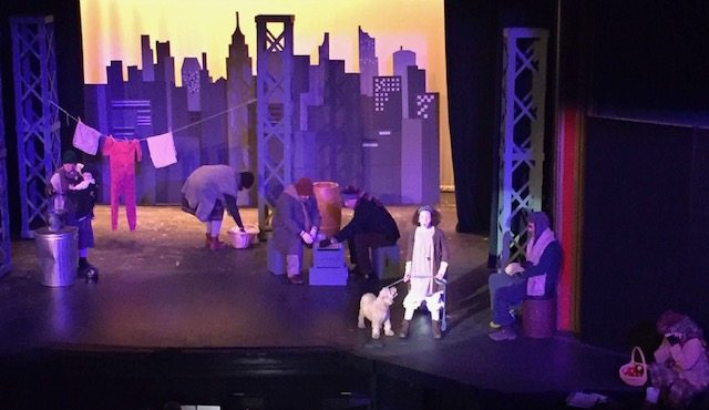 Photo is from the Old Opera House production of 'Annie'. (Submitted photo)
