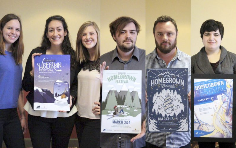 Photo courtesy of Shepherd University Pictured, from left, are Victoria Chopin, Charles Town; Christina Rossomondo, Woodbine, Maryland; Andrea Cooper, Bridgeport; Mathew Wheatley, Germantown, Maryland; Shane Harris, Shepherdstown; and Ariana Hagenau, Shepherdstown.