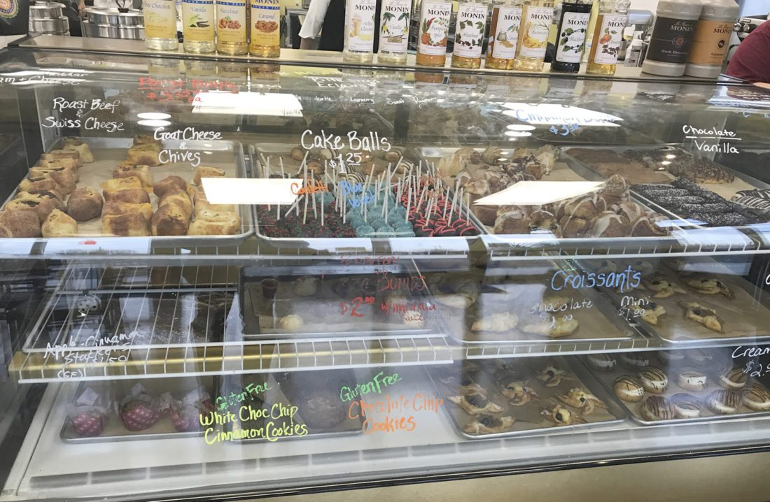 The M Street Bakery, now open in Ranson, offers a variety of cookies, cakes, and other treats. (Journal photo by Adranisha Stephens)